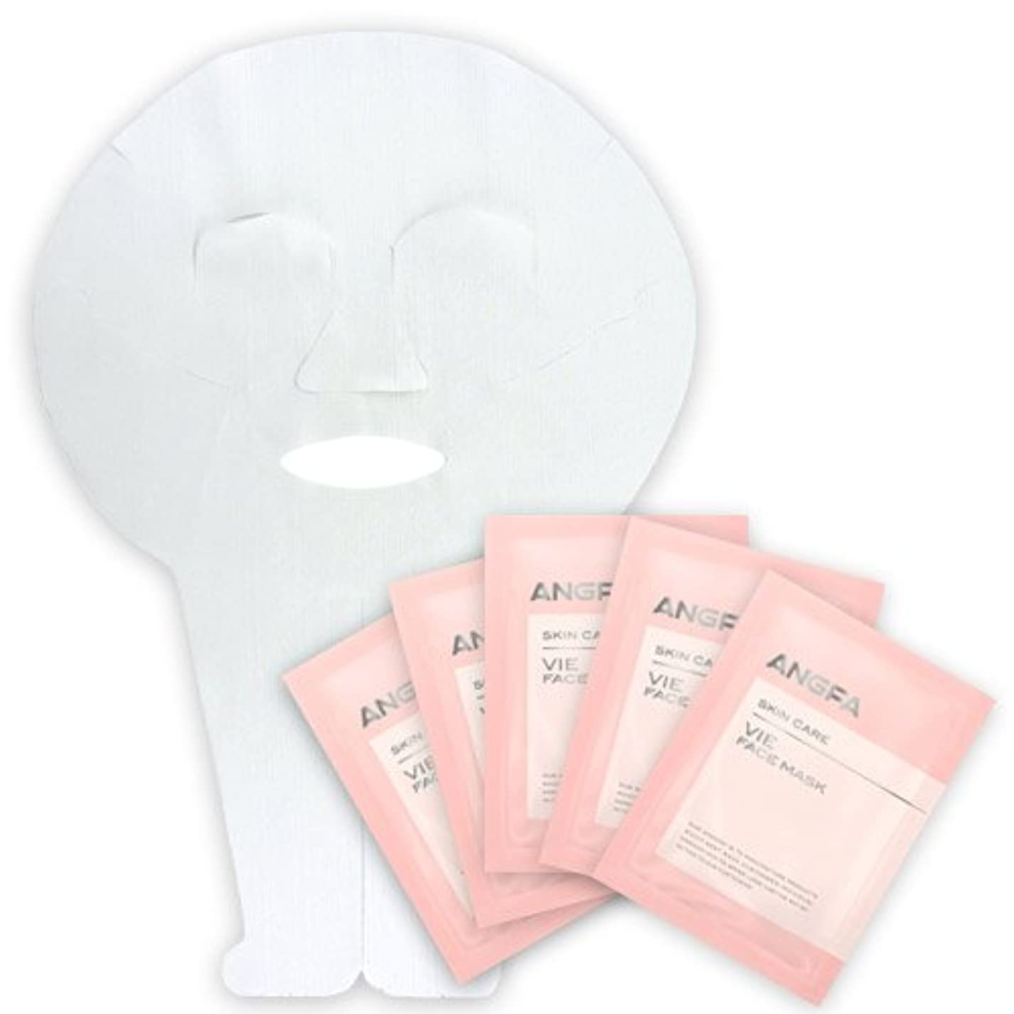 ショット扱う伝染性のアンファー (ANGFA) VIE フェイスマスク 5枚