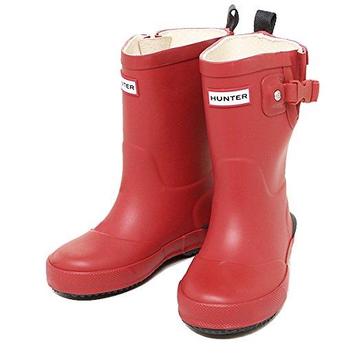 ハンター ブーツ キッズ HUNTER W25352 RNV DAVISON KIDS レインブーツ/長靴 RED/NAVY[並行輸入品]