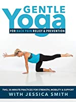 Gentle Yoga for Back Pain and Prevention: 2 30-minute relaxing simple practices designed in conjunction with a back pain specialist [DVD] [並行輸入品]