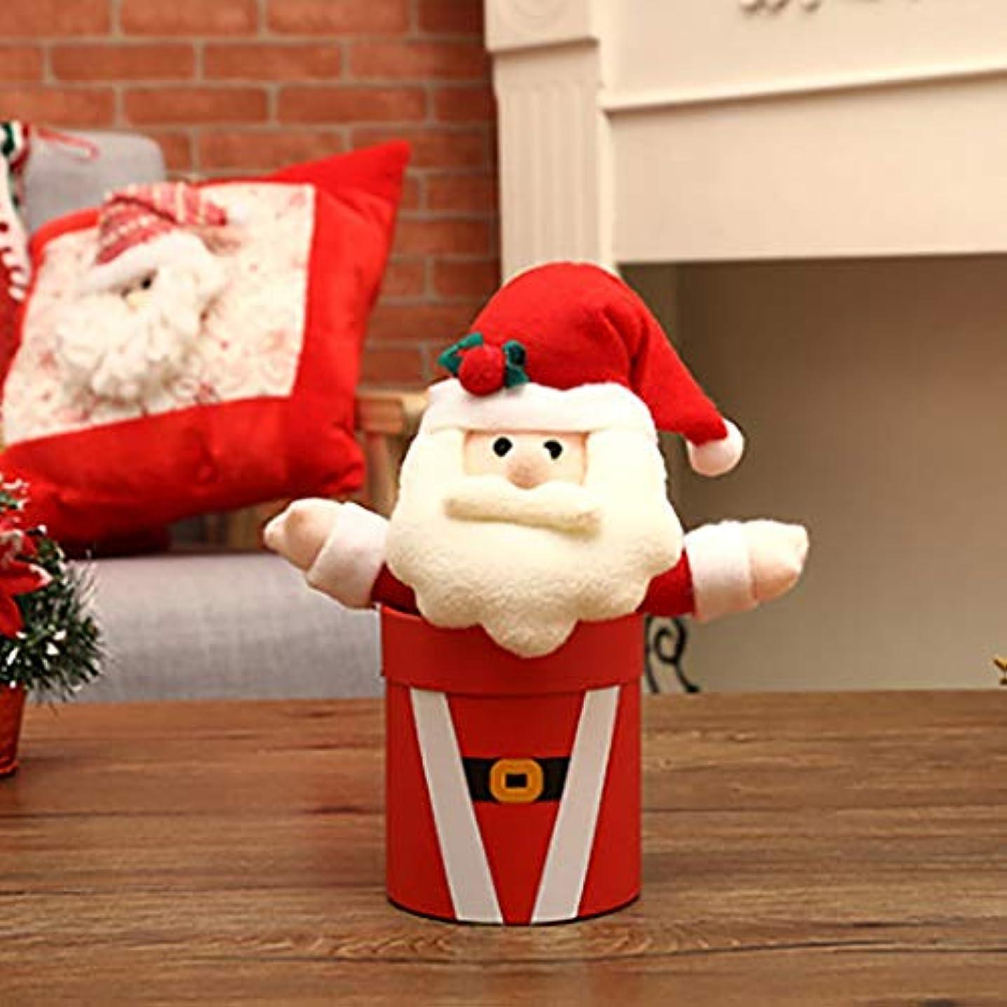 ストラトフォードオンエイボン年金受給者全滅させるクリスマスギフトボックスキャンディボックスのクリスマスイブパーティーギフトボックスクリスマスパーティーギフトボックス雪だるま、サンタクロース結婚式クリスマスパーティーギフト (Color : B)