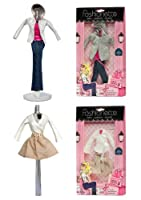 Fashionette Paris 2 Fashion Outfits - City Style designer + Vacation Style designer - to fit Barbie By [並行輸入品]