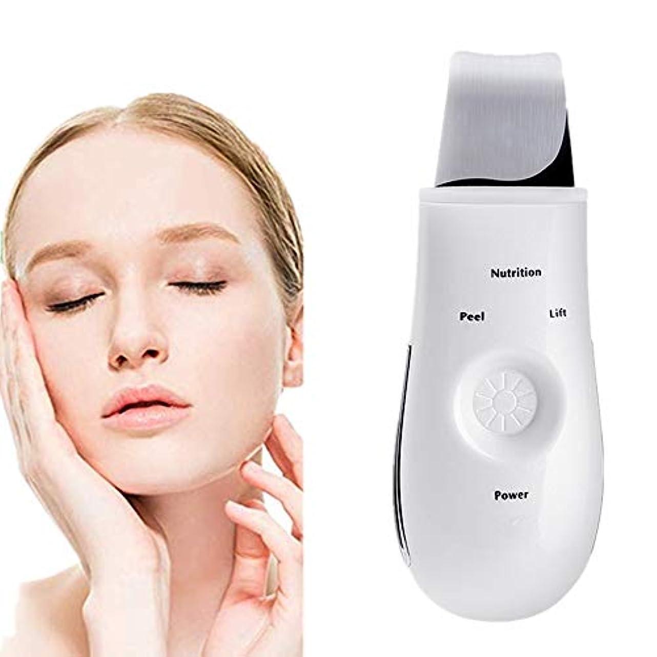 プレゼン知恵消化器除去機のUSBは充電式ホワイトピーリングリフティングEMSクレンジングエクスフォリエイティングスキンケアピーリングと顔の皮膚のスクラバーピール毛穴ツール装置ブラックヘッドリムーバー毛穴の掃除機
