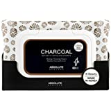 (6 Pack) ABSOLUTE Charcoal Cleansing Tissue (並行輸入品)