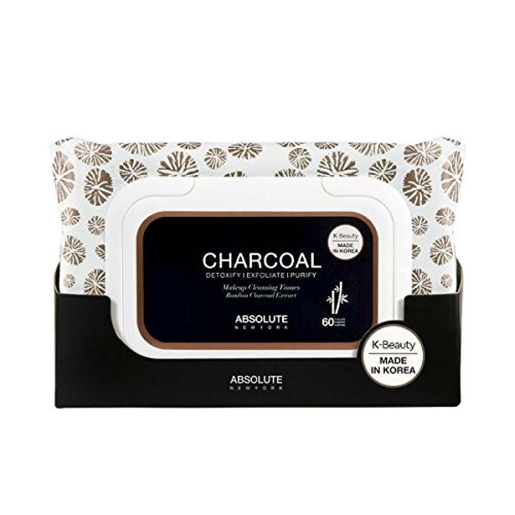 救急車シャイ無駄だ(3 Pack) ABSOLUTE Charcoal Cleansing Tissue (並行輸入品)