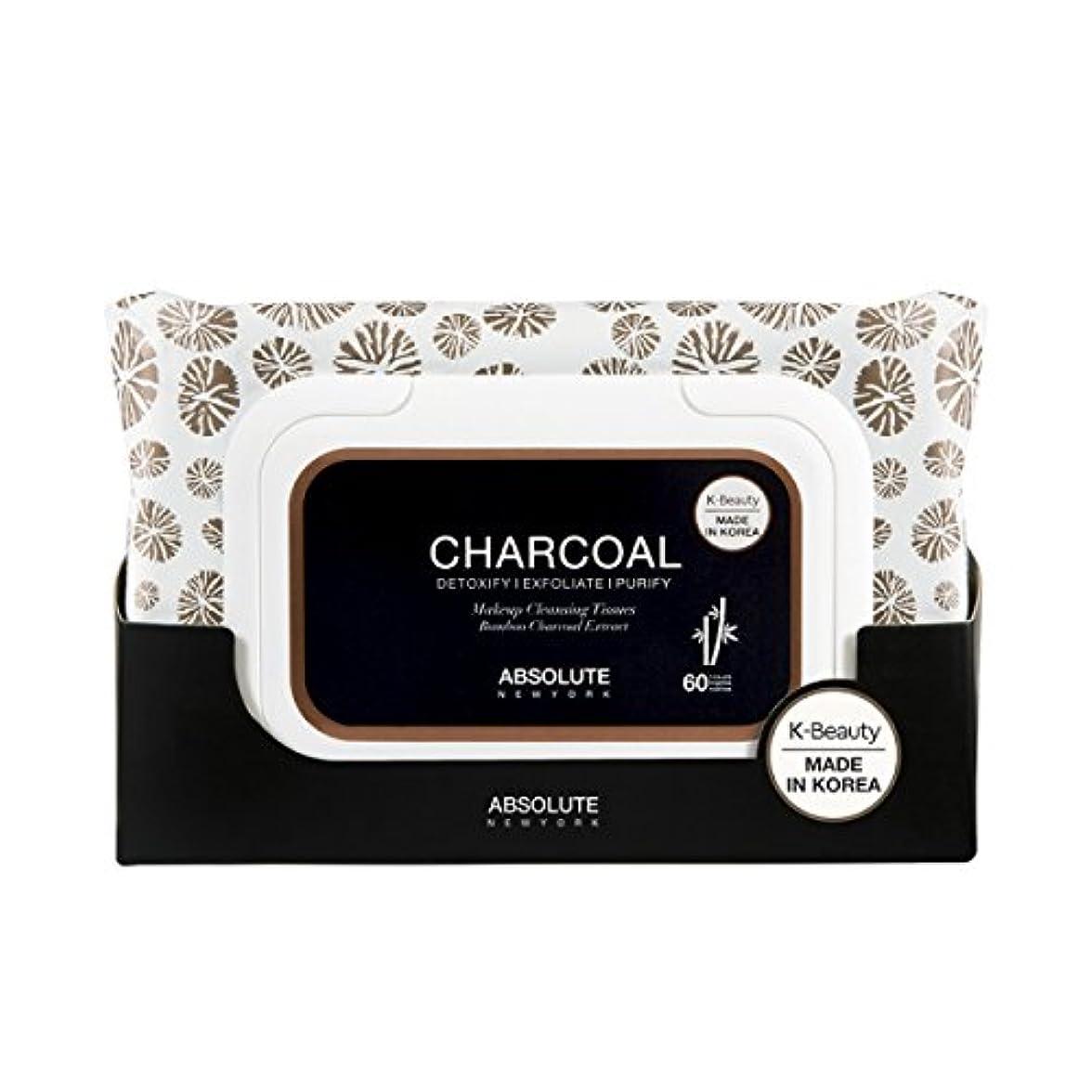 プロポーショナル説明する障害者(3 Pack) ABSOLUTE Charcoal Cleansing Tissue (並行輸入品)