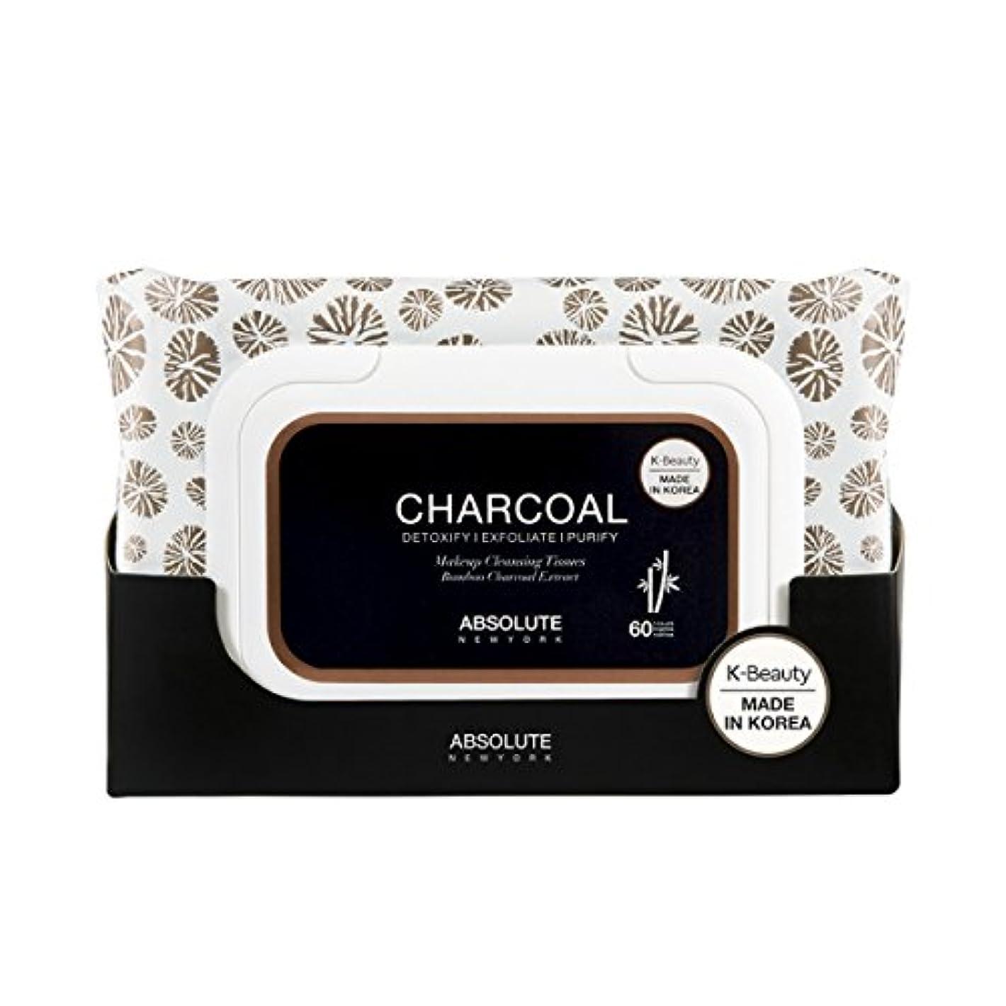 宿題観光に行く感嘆符(6 Pack) ABSOLUTE Charcoal Cleansing Tissue (並行輸入品)