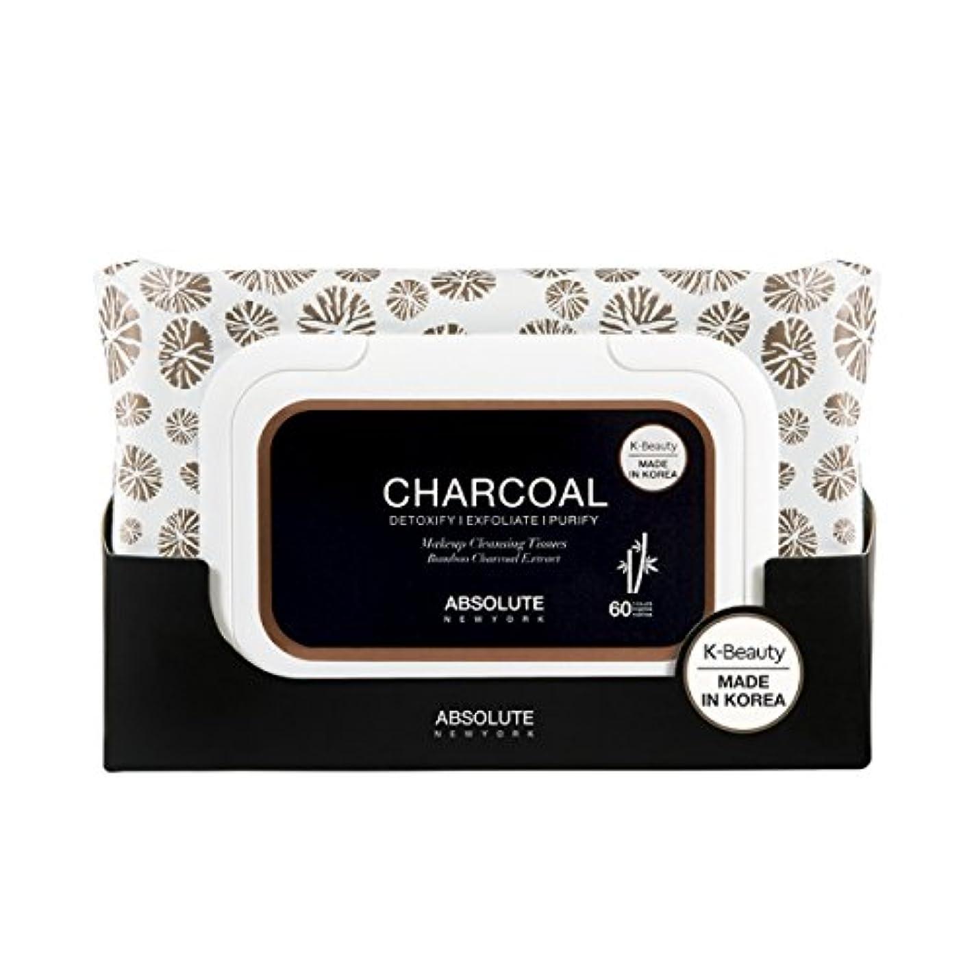 誠実さインタフェース盆(6 Pack) ABSOLUTE Charcoal Cleansing Tissue (並行輸入品)