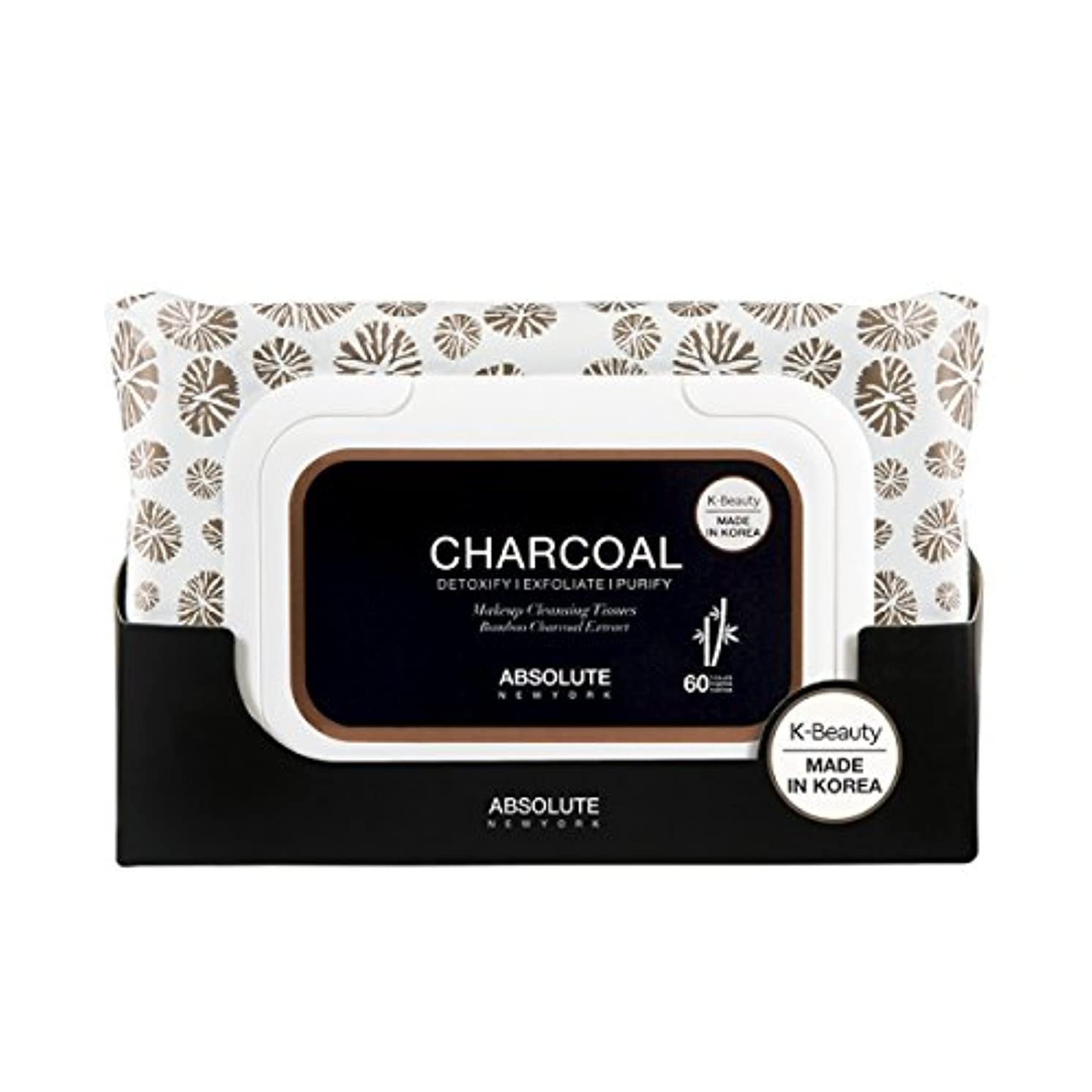 包帯企業ゲスト(6 Pack) ABSOLUTE Charcoal Cleansing Tissue (並行輸入品)