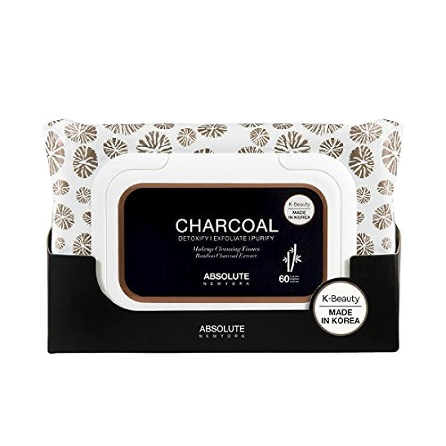 リーク壊れたリーダーシップ(3 Pack) ABSOLUTE Charcoal Cleansing Tissue (並行輸入品)