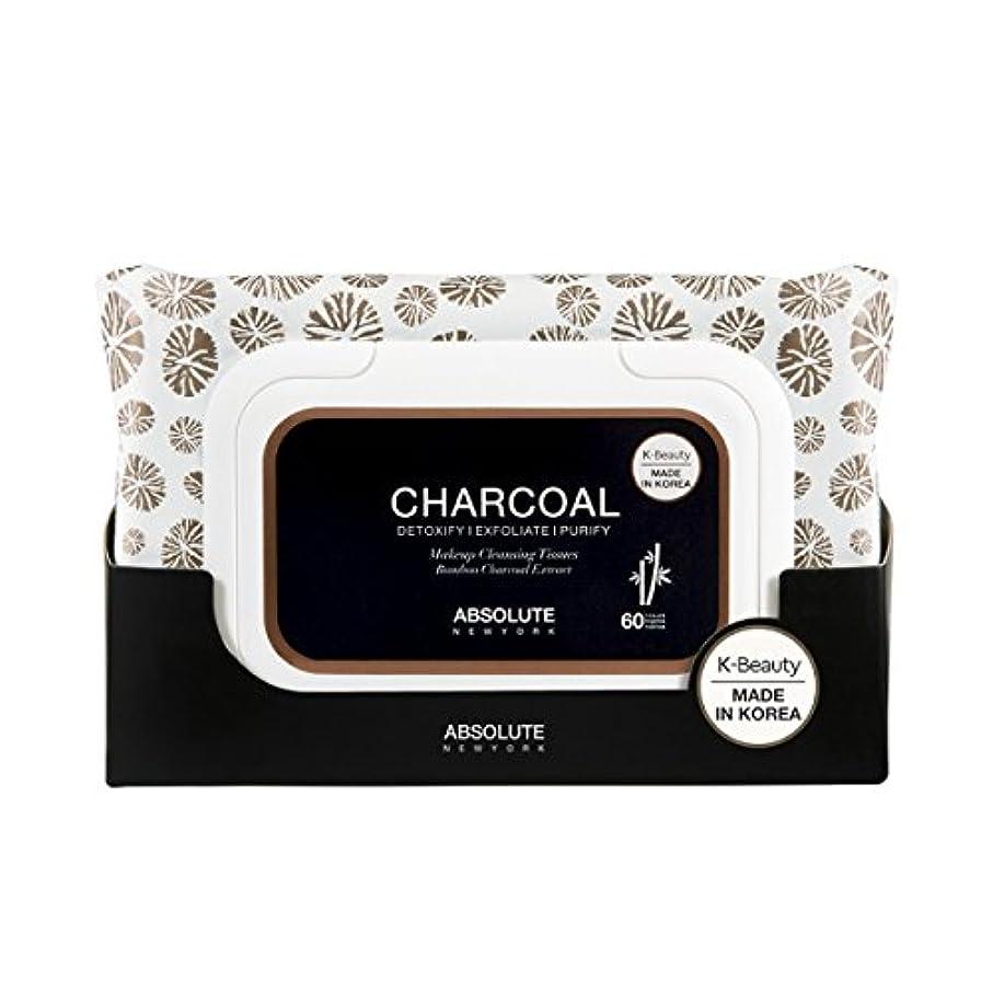 主人ブロック好色なABSOLUTE Charcoal Cleansing Tissue (並行輸入品)