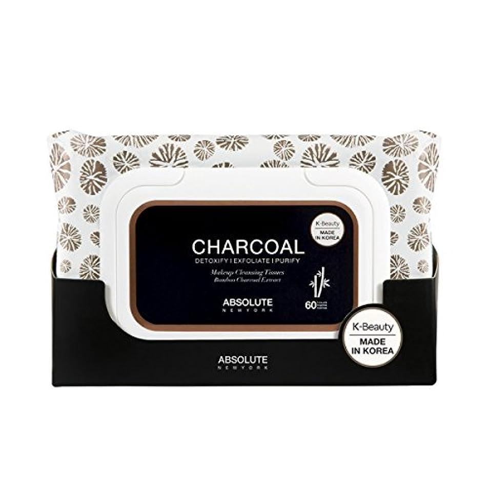 相対サイズノベルティつかまえる(6 Pack) ABSOLUTE Charcoal Cleansing Tissue (並行輸入品)