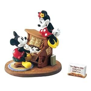 KD-188 イヤーフィギュア2005 ミッキーマウス&ミニーマウス 7546l