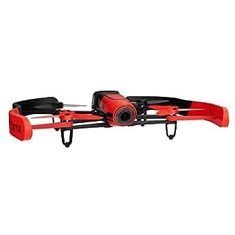 【国内正規品】Parrot ドローン Bebop Drone 1400万画素魚眼 8GB 内部フラッシュメモリー MIMO WIFI レッド PF722040