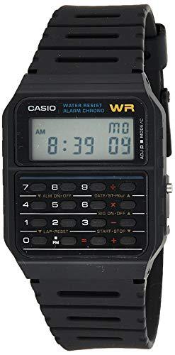 [カシオスタンダード] 腕時計 CA-53W-1Z 逆輸入品 ブラック