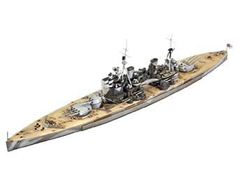 ドイツレベル 1/700 H.M.S. Duke of York イギリス海軍戦艦 プラモデル