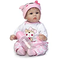 SanyDoll Rebornベビー人形ソフトSilicone 18インチ45 cm磁気Lovely Lifelike Cute Lovely Baby b0763krkhr
