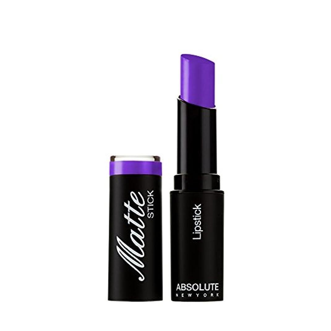 ストライプボイラー甘やかすABSOLUTE Matte Stick - Royal Purple (並行輸入品)