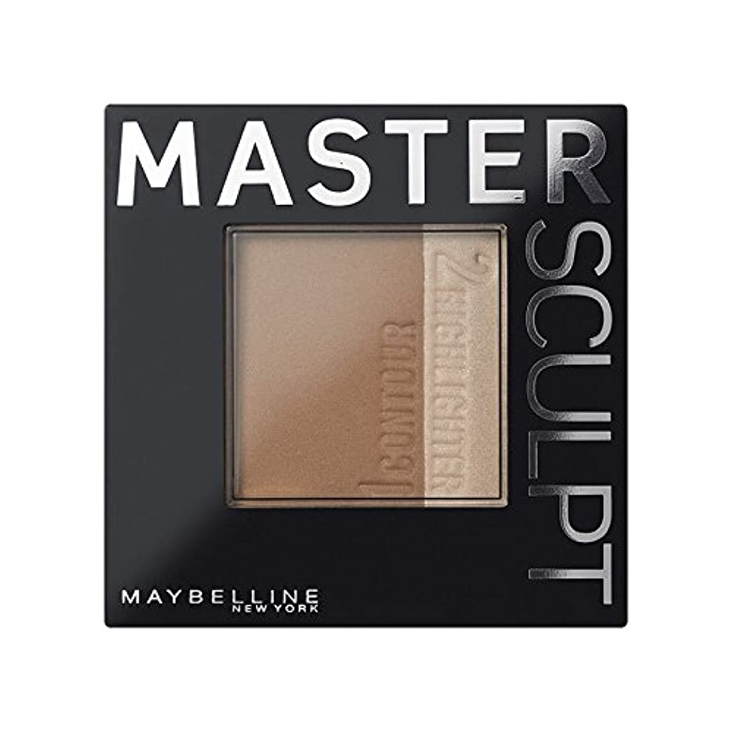 ただたくさんの推測する土台01光/ を輪郭メイベリンマスタースカルプト x2 - Maybelline Master Sculpt Contouring Foundation 01 Light/Med (Pack of 2) [並行輸入品]