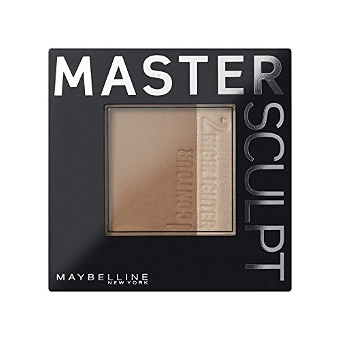ビジョン連想美しい土台01光/ を輪郭メイベリンマスタースカルプト x2 - Maybelline Master Sculpt Contouring Foundation 01 Light/Med (Pack of 2) [並行輸入品]