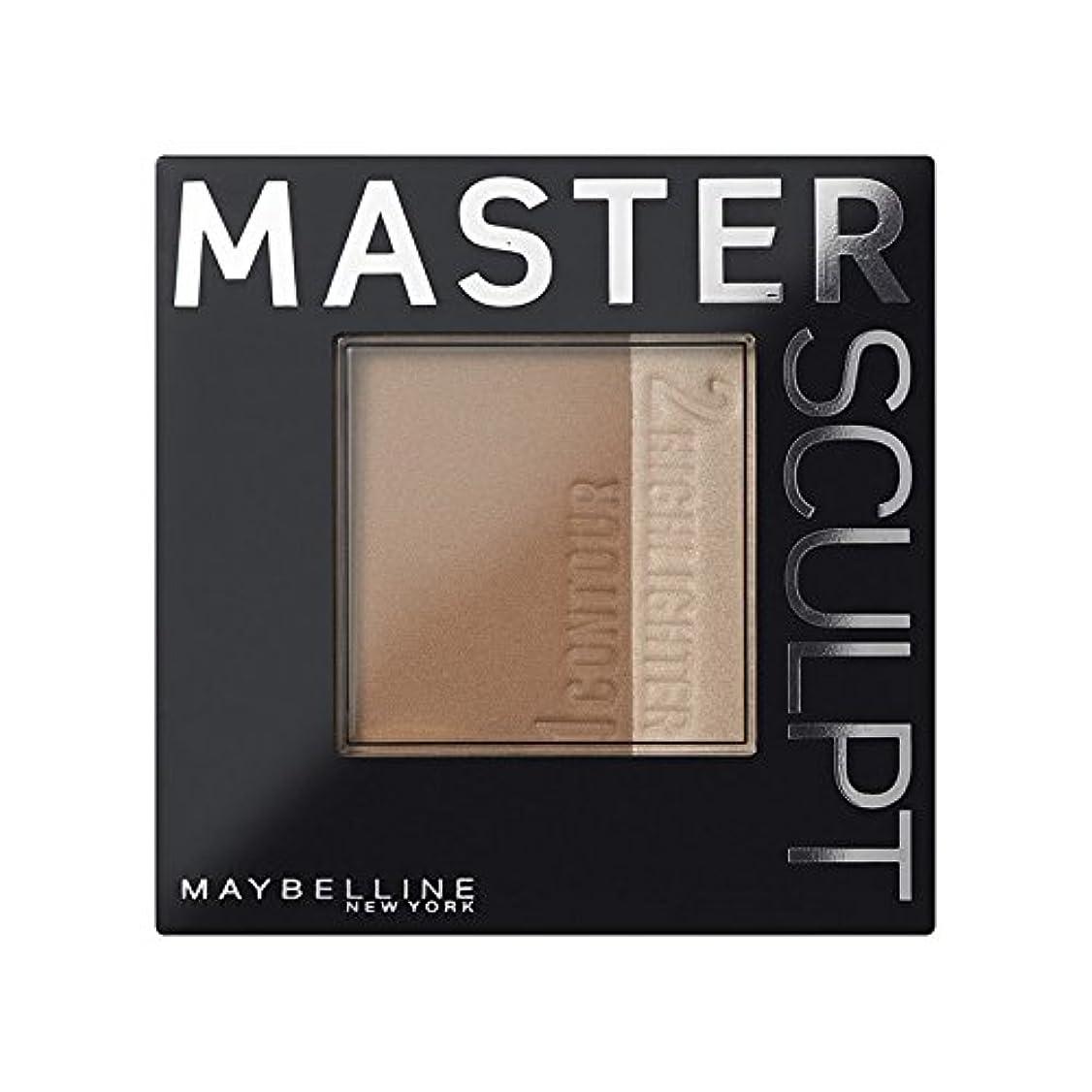 打撃荷物自治的Maybelline Master Sculpt Contouring Foundation 01 Light/Med (Pack of 6) - 土台01光/ を輪郭メイベリンマスタースカルプト x6 [並行輸入品]