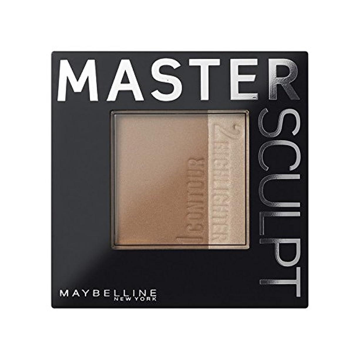 長椅子錫差し迫った土台01光/ を輪郭メイベリンマスタースカルプト x2 - Maybelline Master Sculpt Contouring Foundation 01 Light/Med (Pack of 2) [並行輸入品]