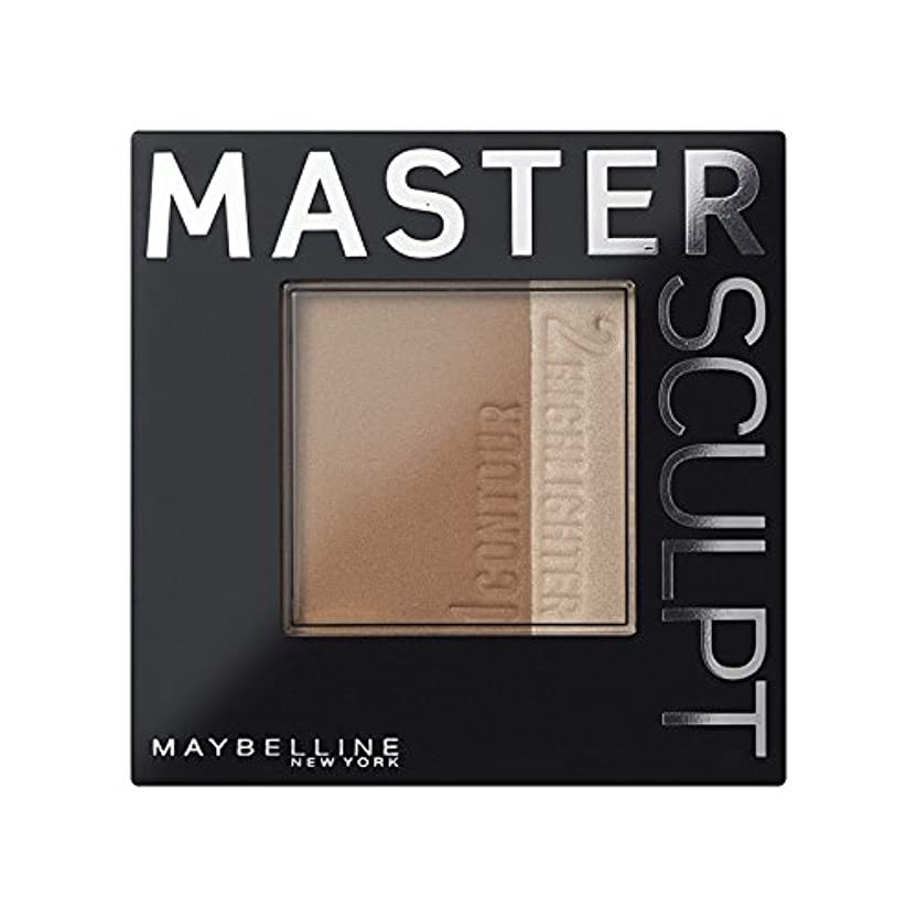 物理学者乱れドライ土台01光/ を輪郭メイベリンマスタースカルプト x2 - Maybelline Master Sculpt Contouring Foundation 01 Light/Med (Pack of 2) [並行輸入品]