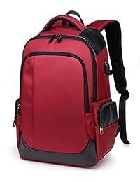 845d31658557 リュック メンズ 通勤 登山 大容量 防水 通学 出張 ビジネス リュック おしゃれ カジュアルコンピューターバッグ 高校生 中学生 USB充電ポート  リュック 旅行バッグ…