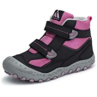 Mishansha Kids Boys Girls Breathable Lightweight Hiking Boots Non Slip Outdoor Ankle Climbing Shoes