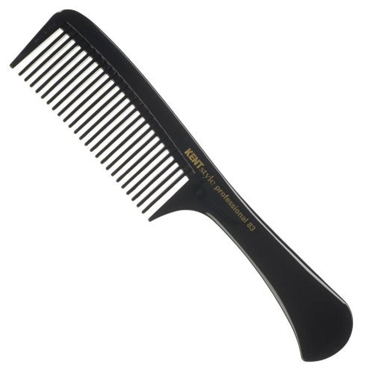 気難しい楽観寺院Kent Style Professional Combs (Black) - Hard Rubber, Anti-static, Unbreakable & Heat Resistant - Salon & Barber...
