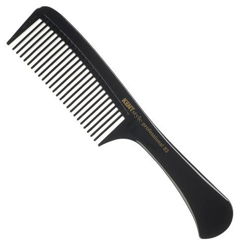 商品少し悲劇Kent Style Professional Combs (Black) - Hard Rubber, Anti-static, Unbreakable & Heat Resistant - Salon & Barber...