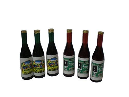 ドールハウス ミニチュア ボトルセット 単品 10-1119