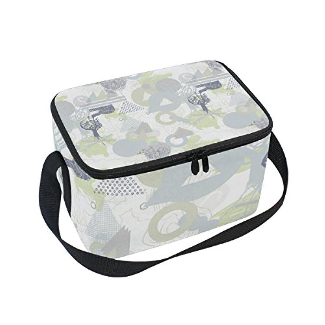 スクレーパー革新ポジティブクーラーバッグ クーラーボックス ソフトクーラ 冷蔵ボックス キャンプ用品 抽象的 パターン 線 保冷保温 大容量 肩掛け お花見 アウトドア
