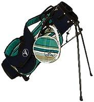 Sassy Caddy Junior Preppy Golf Stand Bag Teal/Navy/White [並行輸入品]