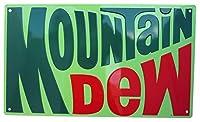 アンディ エンボスメタルサイン Montain Dew