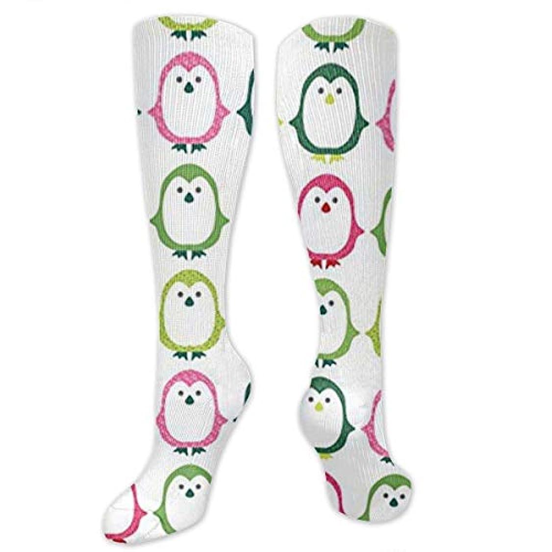 未就学異常破滅靴下,ストッキング,野生のジョーカー,実際,秋の本質,冬必須,サマーウェア&RBXAA Pretty Penguins Colorful Socks Women's Winter Cotton Long Tube Socks...