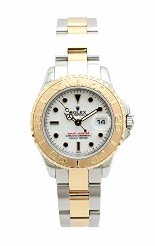 [ロレックス] ROLEX ヨットマスター ホワイト文字盤 K18 SS コンビ A番 レディース AT オートマ 腕時計 169623