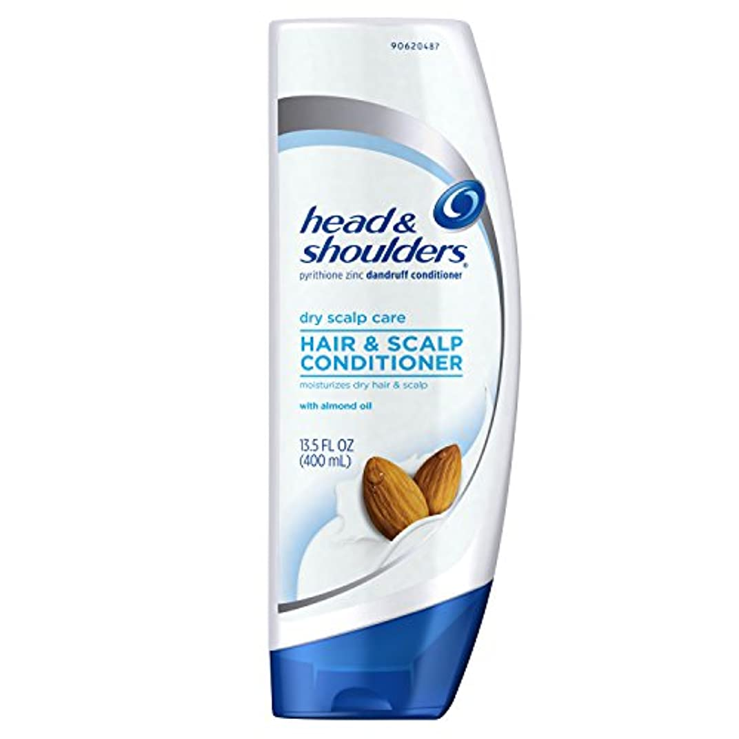 打倒マトン操作可能Head And Shoulders Dry Scalp Dandruff Hair Conditioner - 13.5 Oz (並行輸入品)