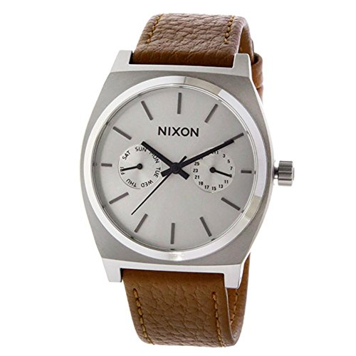 ニクソン NIXON タイムテラー デラックス TIME TELLER クオーツ ユニセックス 腕時計 A927-2310 シルバー 並行輸入品