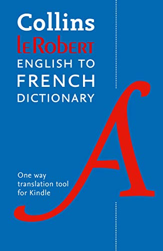 Collins Robert English to French Dictionary (French Edition)