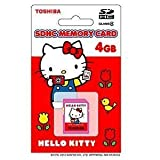 東芝 4GB・Class4対応SDHCカード(ハローキティ)SD-H04GKT [PC]