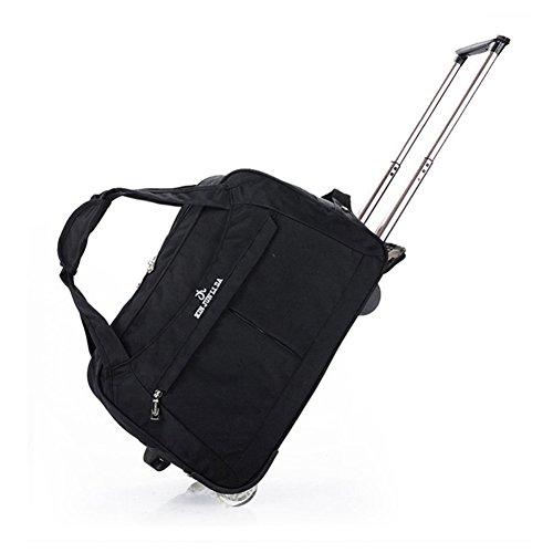 BH JP キャリーバッグ 旅行用 メンズ レディース 鞄 機内持ち込み 男女兼用 ブラック