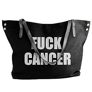 癌 トートバッグ レディーズ 手提げバッグ ショルダーバッグ 大容量 旅行 キャンバス カバン カジュアルオシャレ ショピング