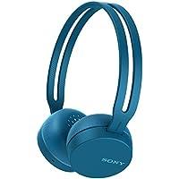 ソニー SONY ワイヤレスヘッドホン WH-CH400 : Bluetooth対応 最大20時間連続再生 マイク付き 2018年モデル ブルー WH-CH400 L