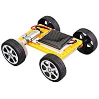Tichan ソーラーカー DIY 組み立て おもちゃセット ソーラー カー キット 教育科学 子供 ソーラーカー DIY 技術玩具