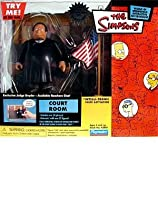 Simpsons - World of Springfield Interactive Environment (Playset) - Court Room w/exclusive Judge Snyder figure