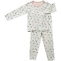 BESTAROO Girls Toddler Top and Pant Pajama Set