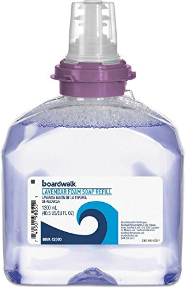 混合した全くキノコラベンダーFoam Soap、クランベリー香り、1200 mlリフィル、