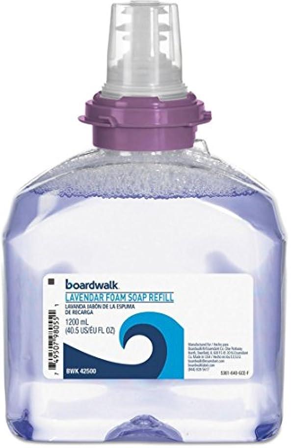 実験教会まろやかなラベンダーFoam Soap、クランベリー香り、1200 mlリフィル、