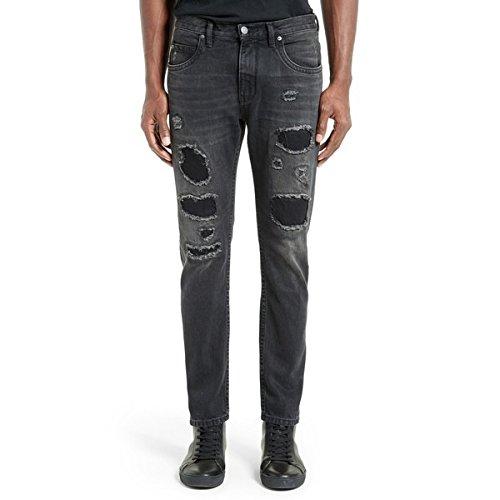 ヘルムート ラング ボトムス デニムパンツ Helmut Lang MR87 Destroyed Jeans Black [並行輸入品]