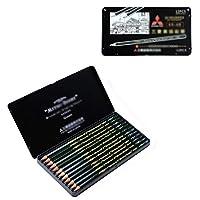 鉛筆画スケッチ鉛筆画鉛筆木炭ペン六角鉛筆学習用品画材12パック